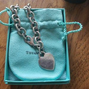 Authentic Tiffany & Co. Charm Bracelet